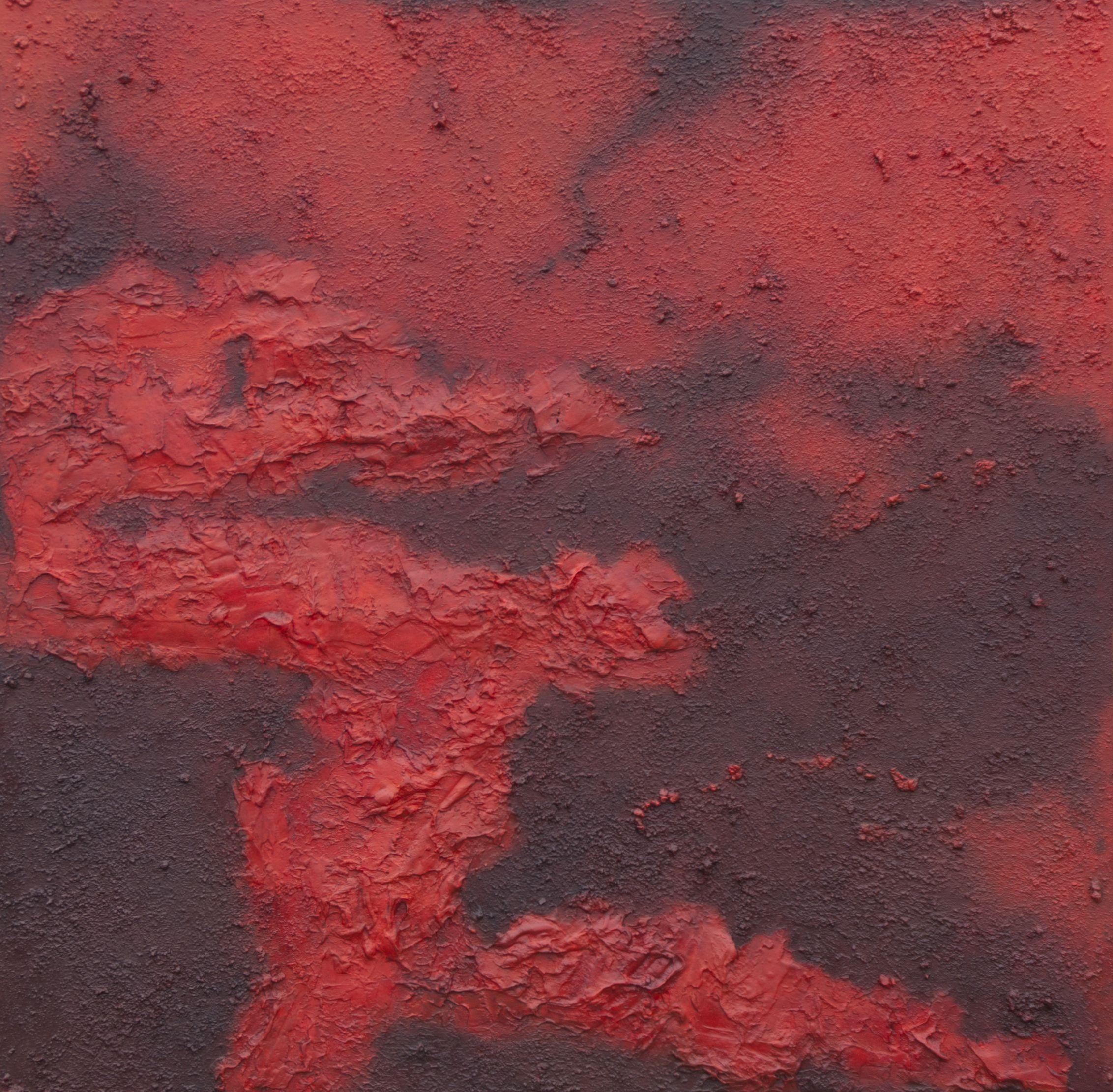 rhapsody in red 70x70