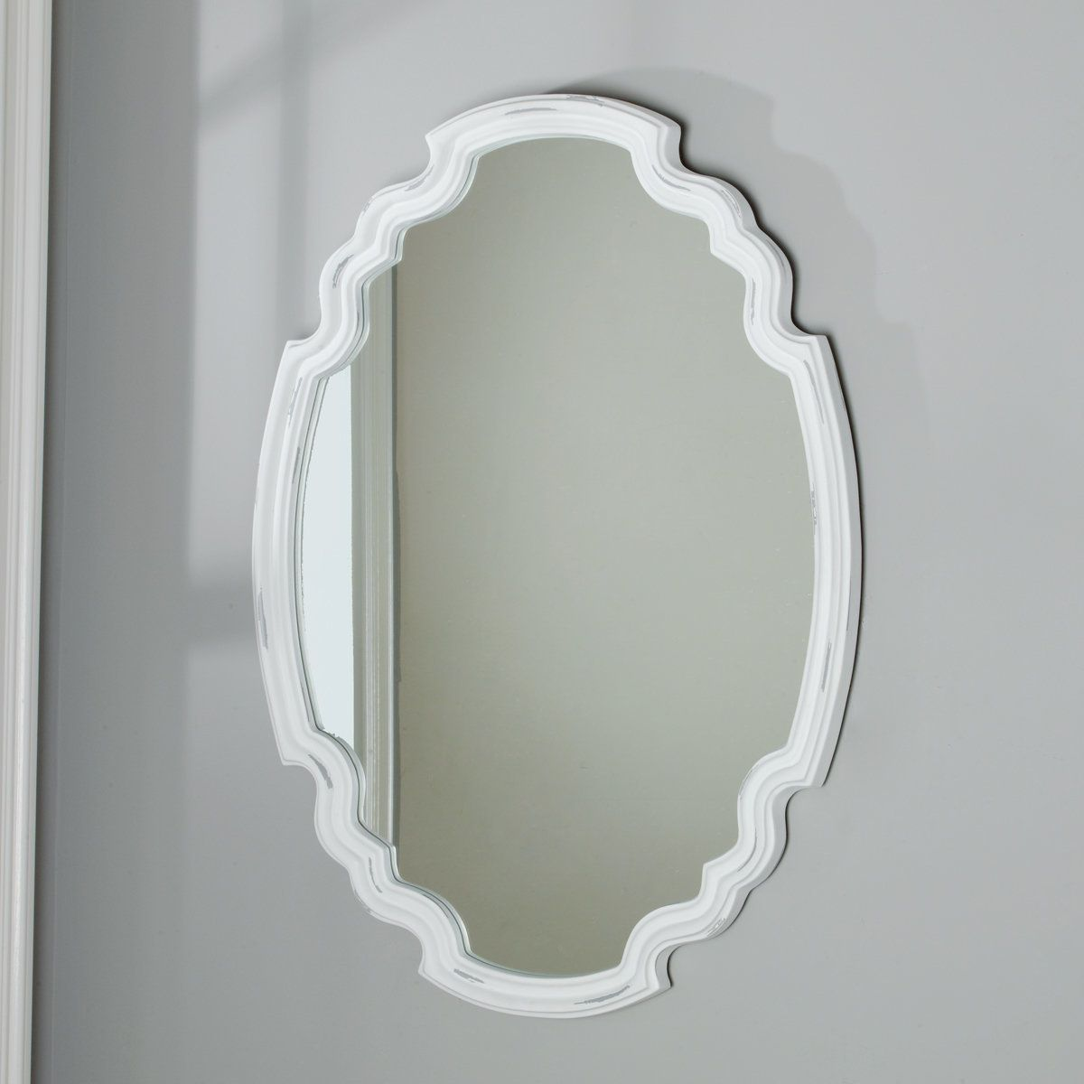 Minimalist Shield Mirror Mirror Metal Mirror Rustic Bathroom Mirrors [ 1200 x 1200 Pixel ]