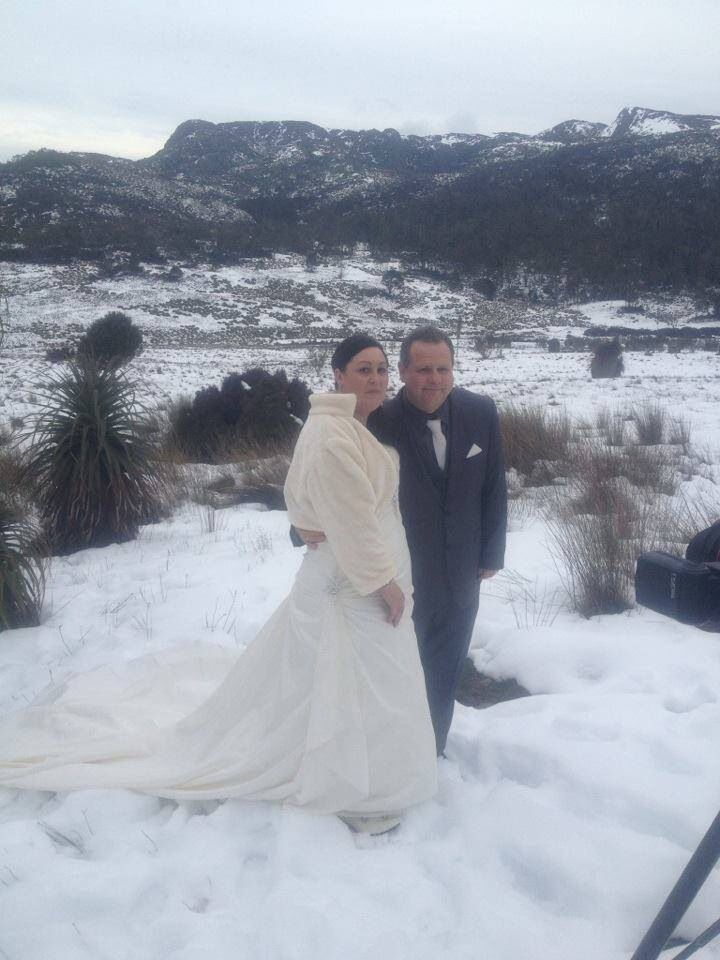 Our Wedding 13th July 2013 Cradle Mountain Tasmania