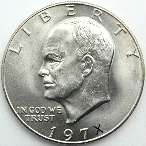 Coin 1 U S Eisenhower Ike 1 Dollar Coin 1971 To 1978 Collectors Coin By Www Dollardealwholesale Com Coin Collecting Peace Dollar Silver Dollar