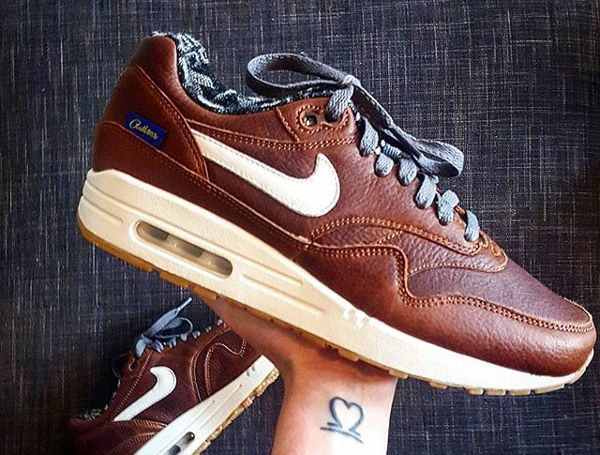 Nike Air Max 1 Pendleton Warm and Dry @swooshesandcats