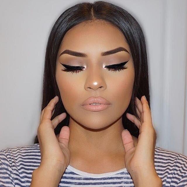 Beautiful Makeup For Dark Skin Http Comoorganizarlacasa Com En Beautiful Makeup For Dark Skin Hermoso Maqu Flawless Makeup Makeup Looks Winter Winter Makeup