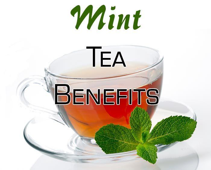 Mint Tea Benefits Herbs And Natural Remedies Pinterest Weight