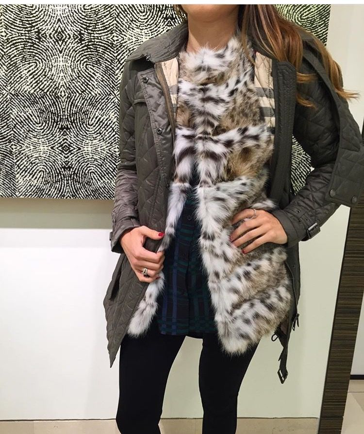 #Fashion Tip: Layer your #Gorski vest under a Gorski jacket or other outerwear for a fun, versatile look
