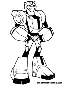 How To Draw Bumblebee From Transformers With Step By Step Drawing Tutorial For Kids How To Draw Step By Step Drawing Tutorials Transformers Coloring Pages Bee Coloring Pages Cartoon Coloring Pages