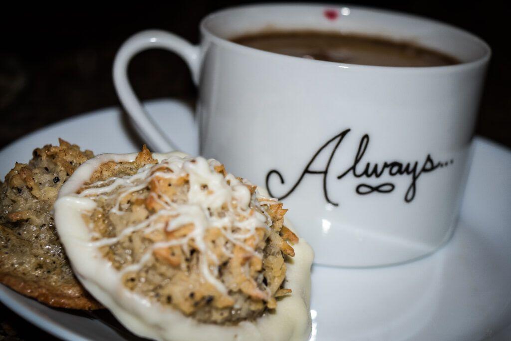 Coconut Coffee Macaroons Food processor recipes