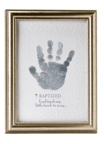 The Grandparent Gift Co. Photo Frame, Baptism Handprint...wish we ...