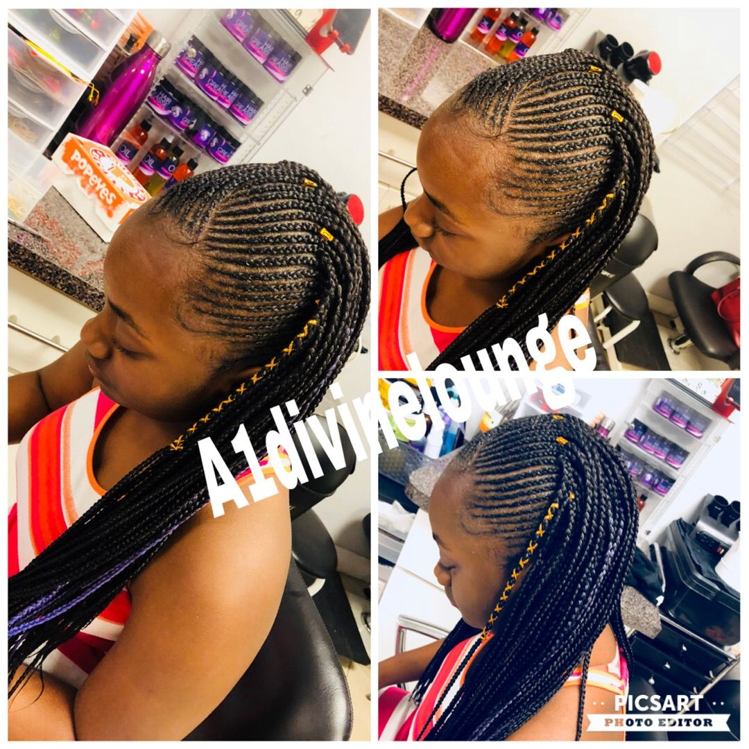 Pin by brenda beautylounge on kids braids pinterest kid braids