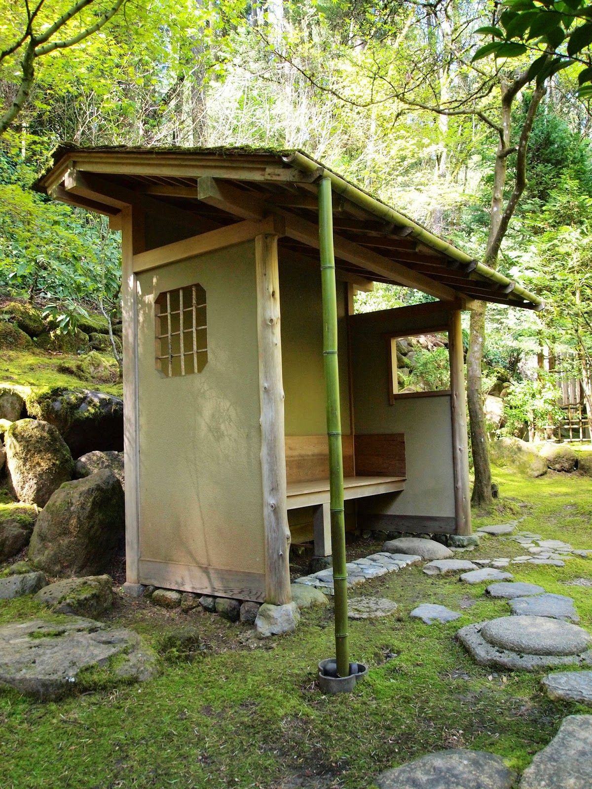 these pictures are from portland japanese garden and the tea house
