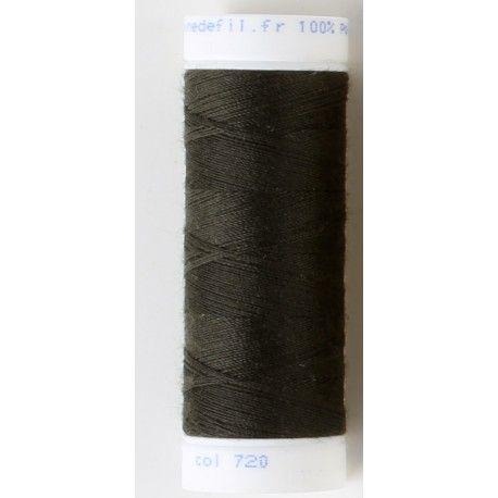 Fil à coudre tout textile - CHARBON