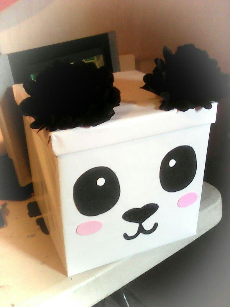 Caja De Regalo Oso Panda Cajas De Regalo Originales Hacer Cajas De Regalo Cajas De Regalo Decoradas