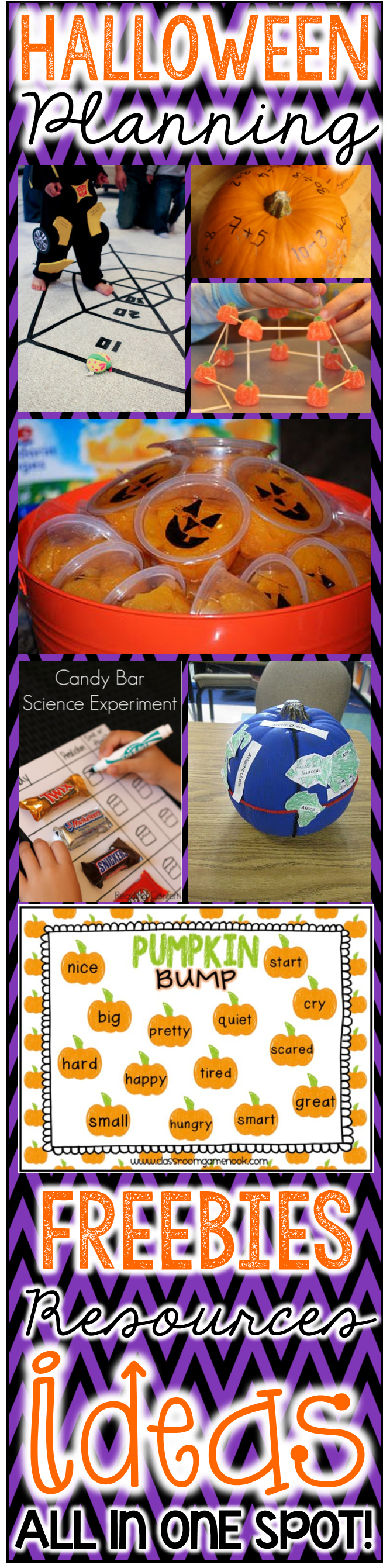 Plan your Halloween/Fall party activities in a SNAP. This download ...