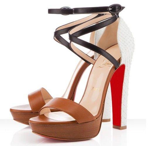 discount sast browse Christian Louboutin Summerissima Python Sandals RFXsPS