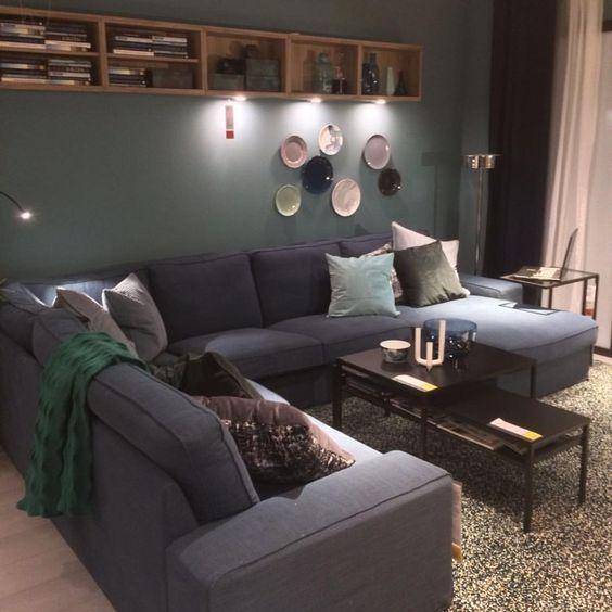 Ikea Kivik Hoekbank.Kivik Hoekbank Ikea Living Room In 2019 Ikea Living