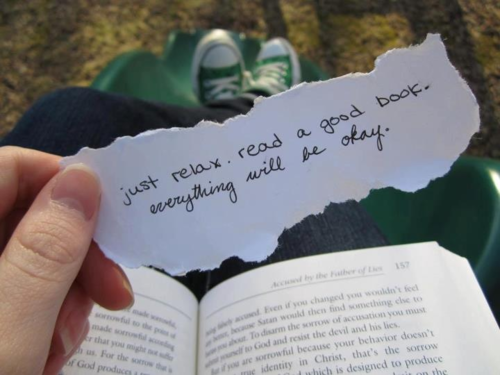Just relax and read a good book  Everything will be ok