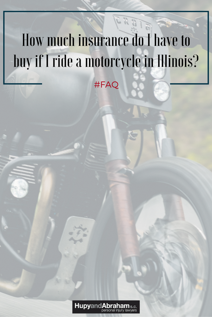 How Much Insurance Do I Have To Buy If I Ride A Motorcycle In