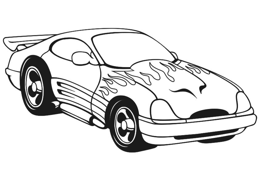 free printable race car coloring pages nice car | coloring_pages ...