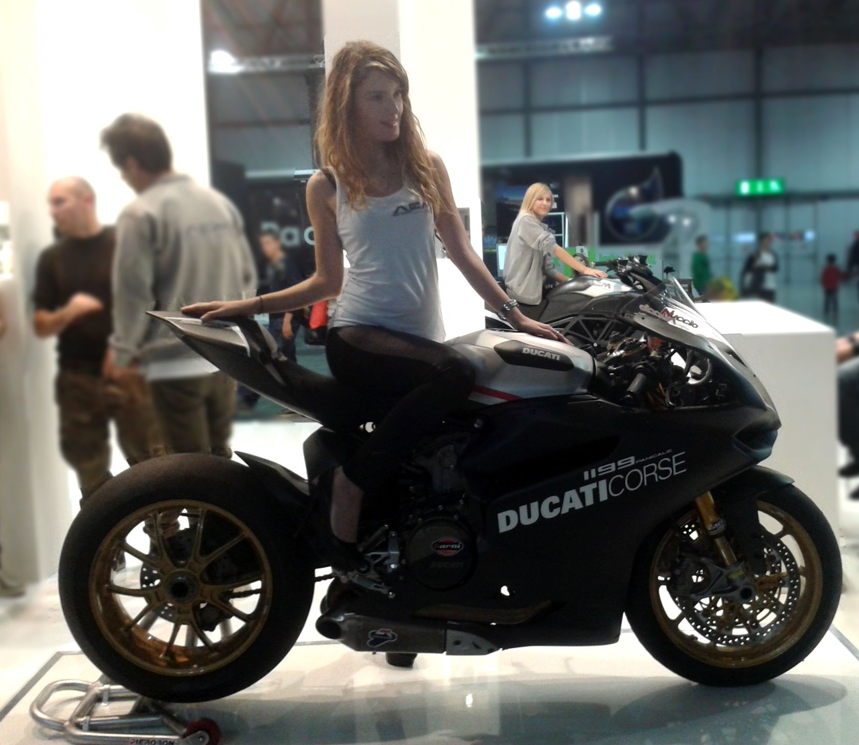 ducati 1199 panigale by acm factory eicma milano italy ph