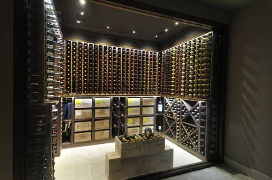 d coration cave vin wine room pinterest caves. Black Bedroom Furniture Sets. Home Design Ideas