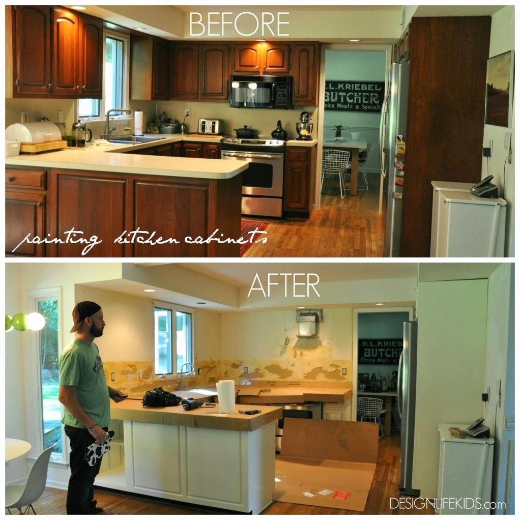 Inspirational Painting Kitchen Cabinets Yourself The Most Awesome As Well As Interesting Painting Kitchen Cabinets Yourself With Regard To Motivate Your Home