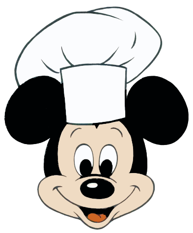 Chef Mickey Mouse Clipart | Disney | Pinterest
