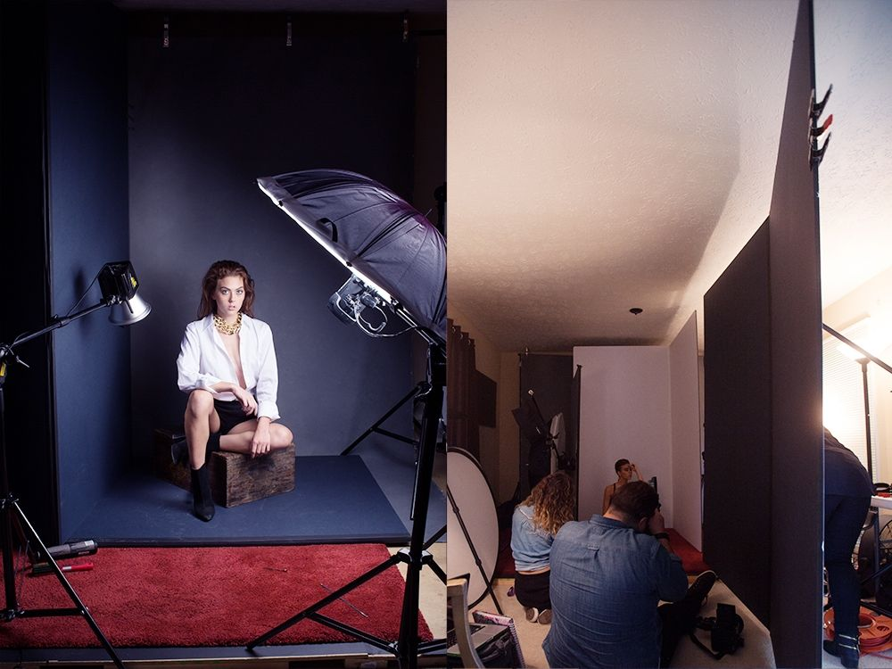 Советы как фотографировать в студии