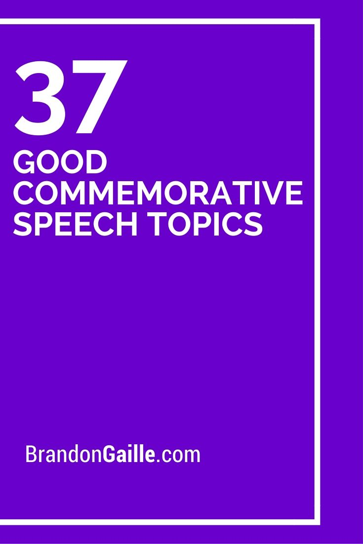 communication speech topics