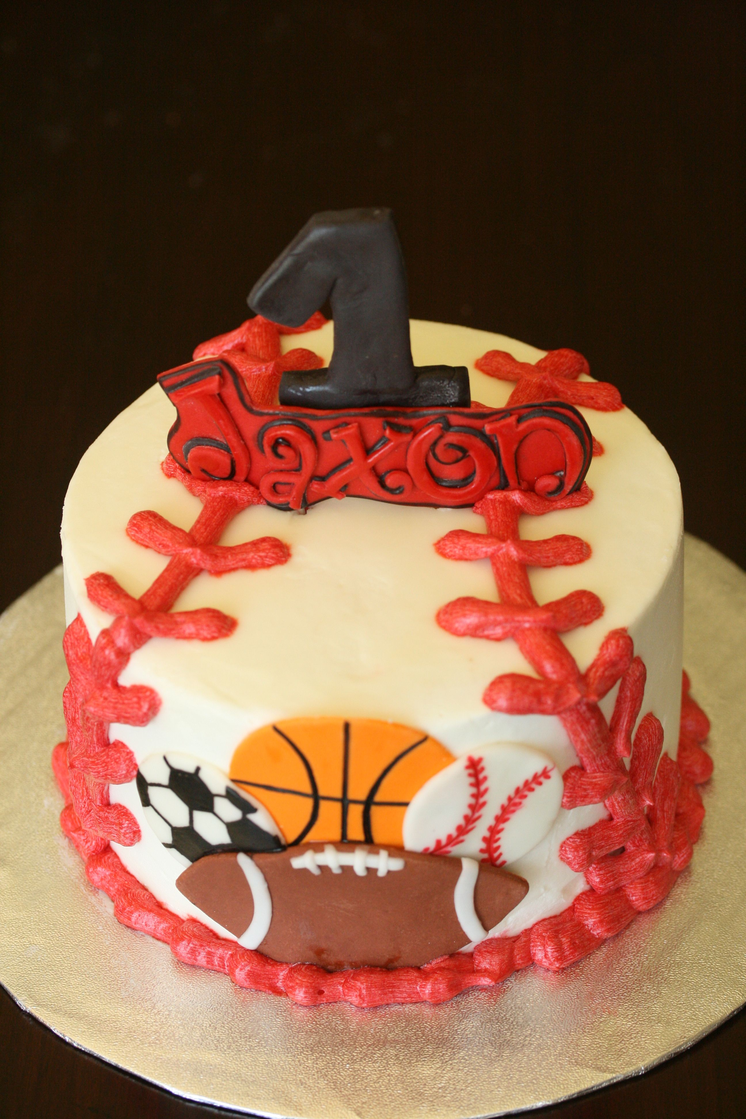 Sports Cake Smash Cake