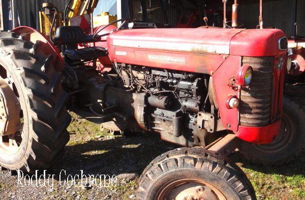 Massey Ferguson 65 Mk Ii Multipower French Vintage Tractor 1963