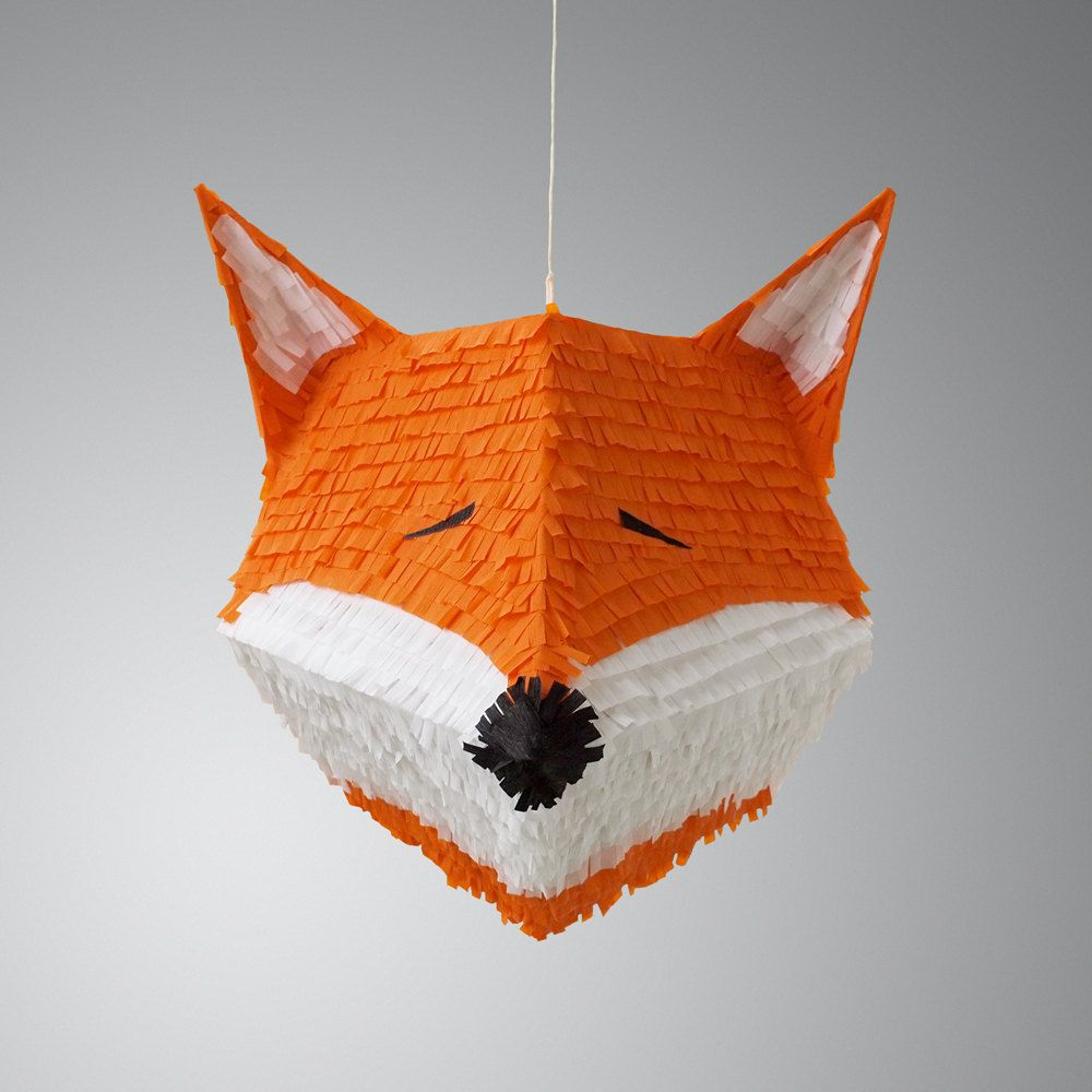 fiona the fox pinata by owithdoubledots on etsy fantastic mr fox