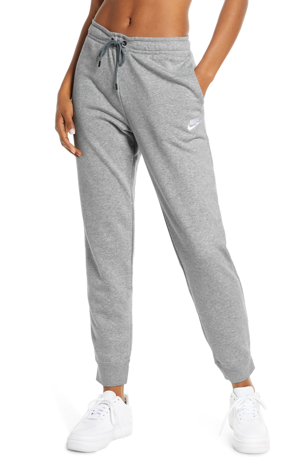 nike fleece knit sweatpants womens