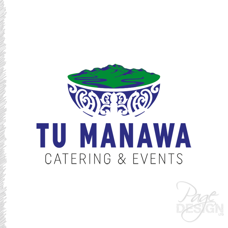 Logo Design for Tu Manawa Catering & Events, NZ