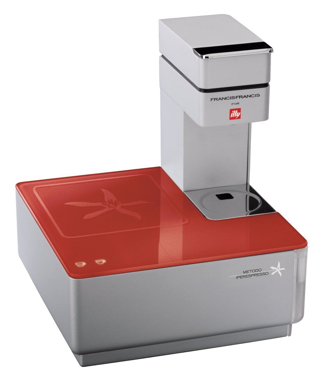 Francis Francis Illy IperEspresso Y1.1 Coffee Machine, Red | Home ...