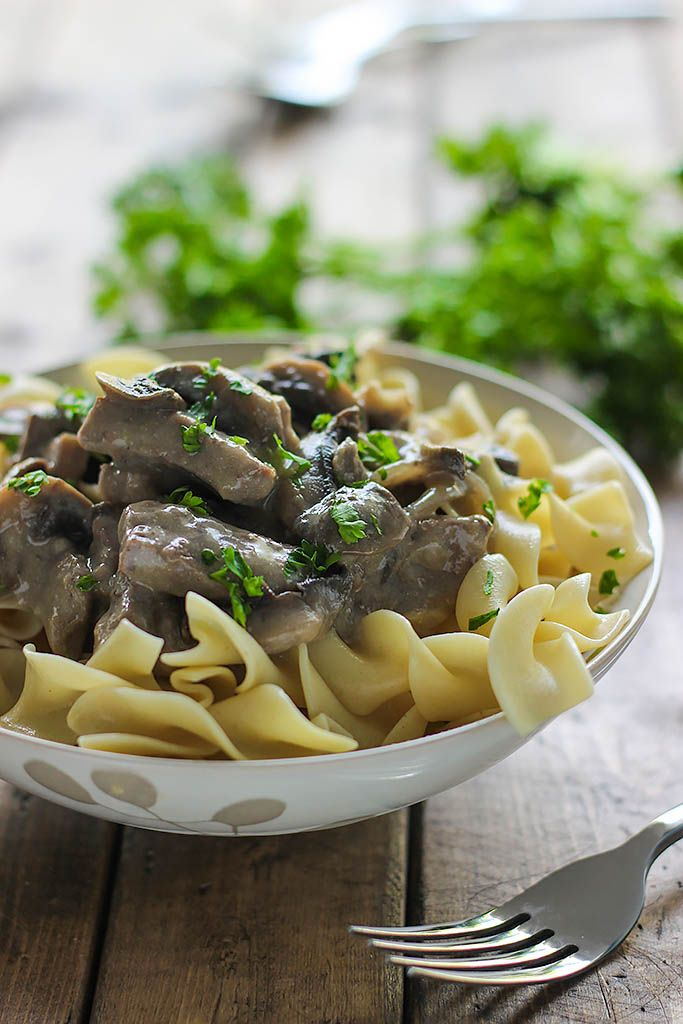 Beef Stroganoff The Cooking Jar Recipe Beef Stroganoff Beef Recipes Stroganoff Recipe