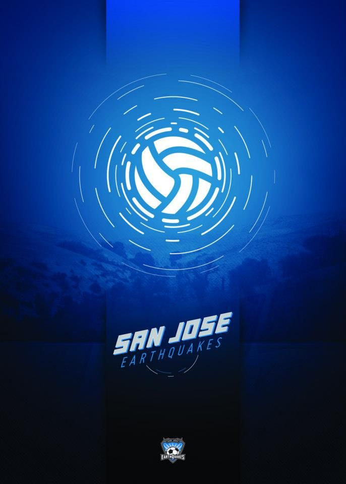 San Jose Earthquakes: Capturing the Earthquakes by using a single icon.