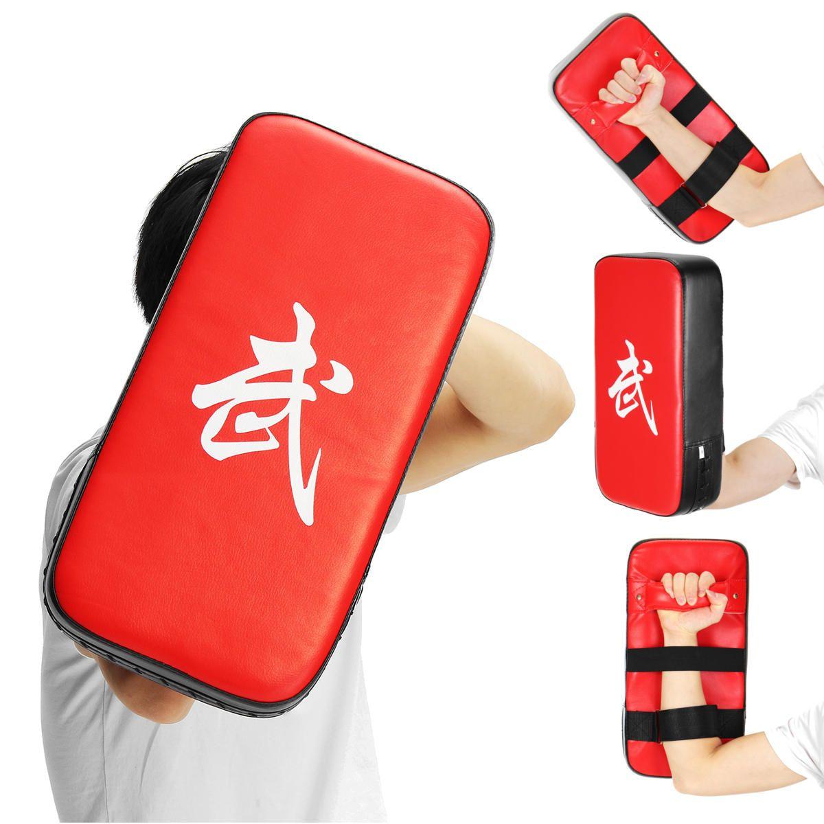 Muay Thai Karate MMA Taekwondo Boxing Target Focus Kick Shield Pad Equipment