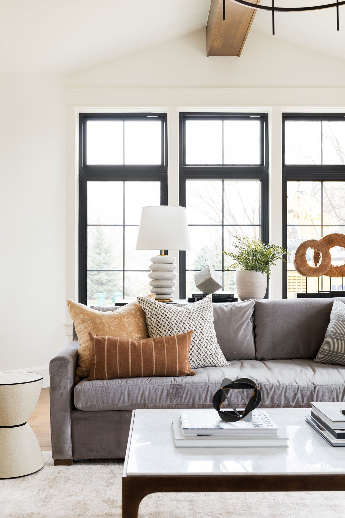 Northridge Remodel: The Living Spaces   Casual living ... on Fireplace Casual Living id=15866