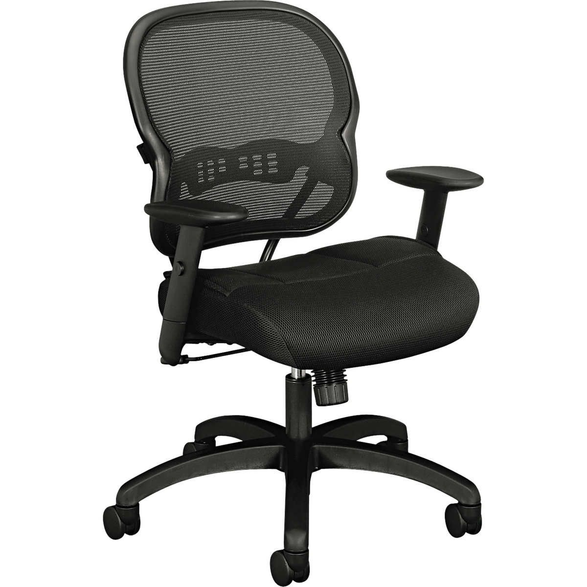 Hon vl700 series black mesh swiveltilt midback chair