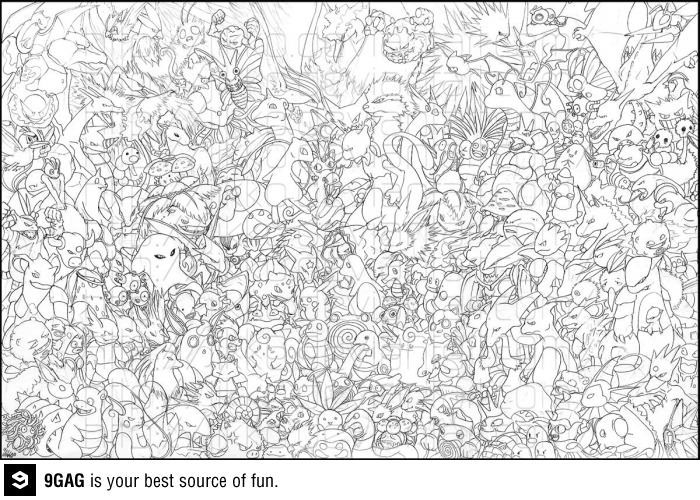 First 151 pokemons geek tastic pinterest pok mon for All pokemon coloring pages