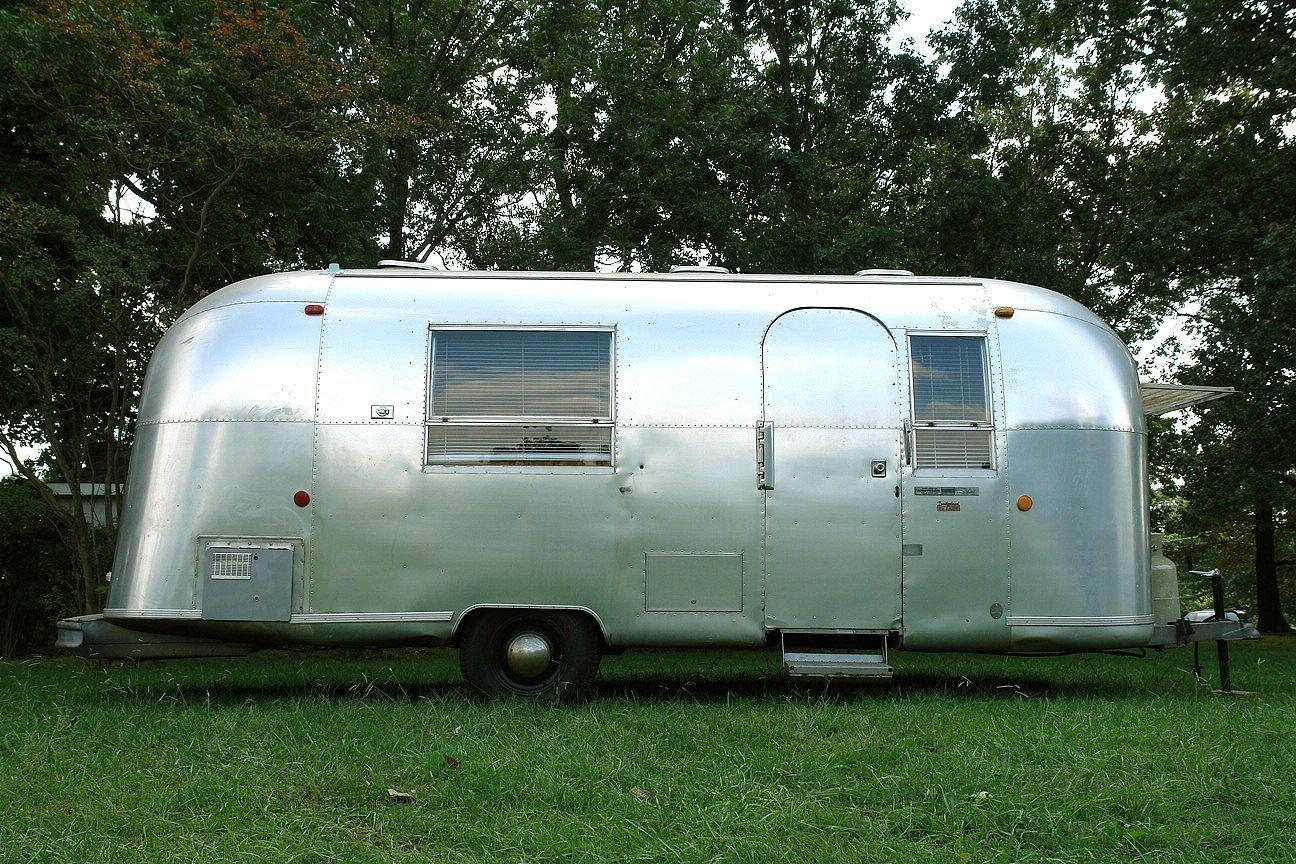 Airstream travel trailers vintage