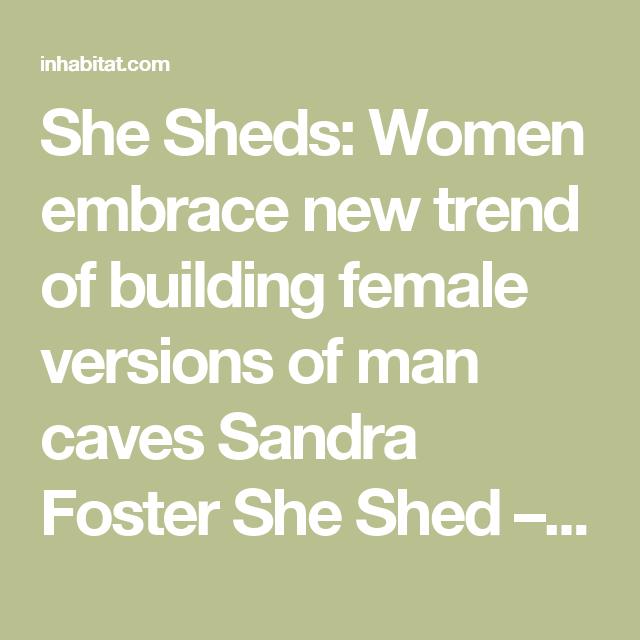 Female version of man cave