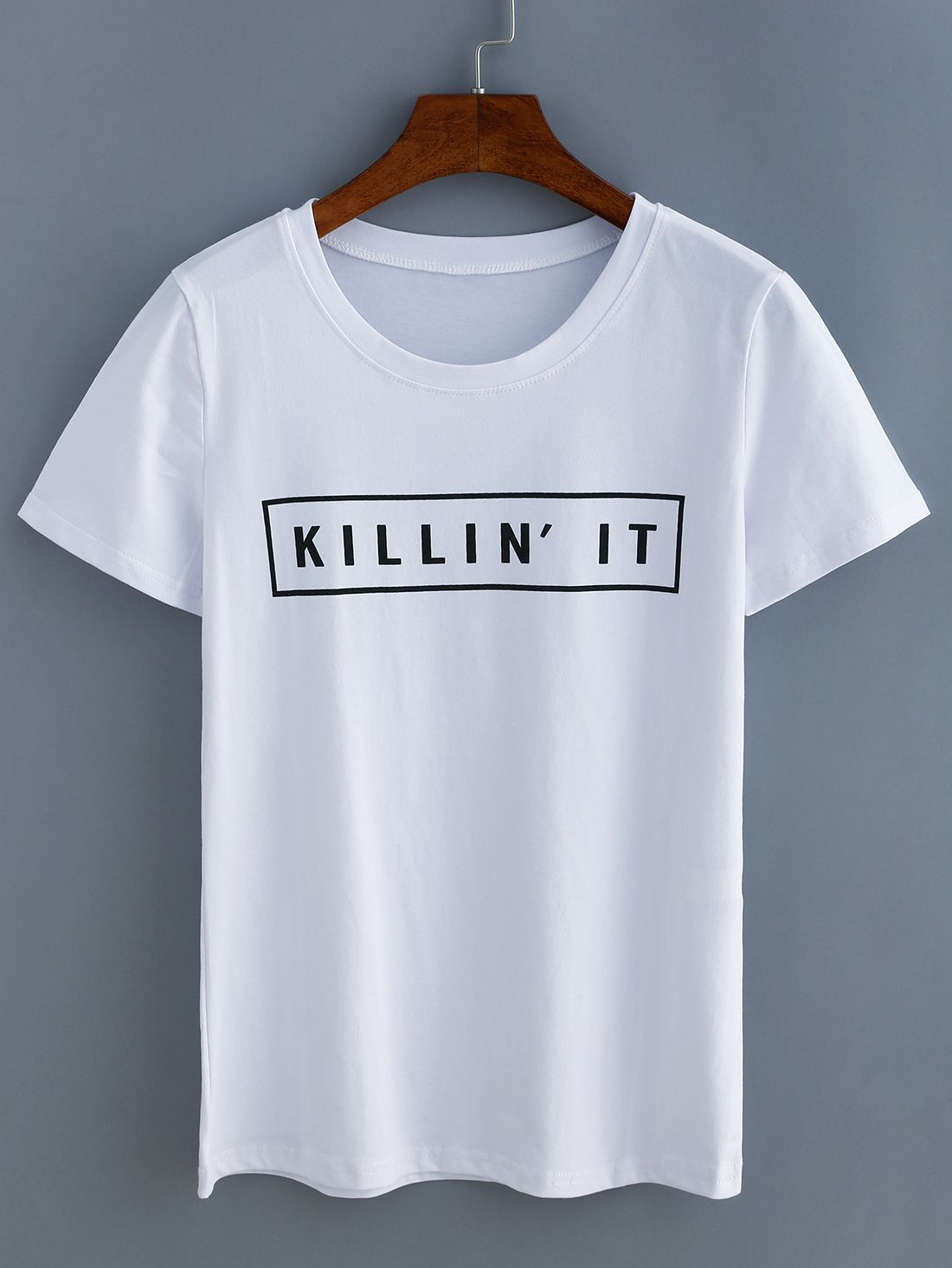 White  t shirt letter printed Womens Mens shirt unissex fashion style hipster