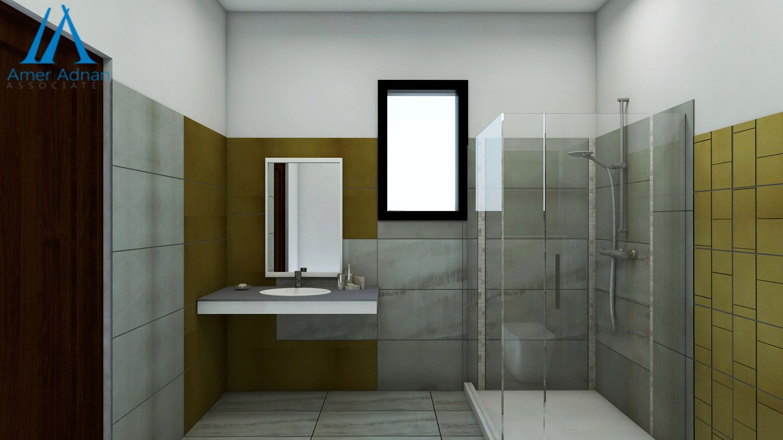 Latest Bathroominterior 3d Design Idea By Team Aaa Interiordesign Bathroom Design Guest Bathroom Design Bathroom Design Trends Bathroom design ideas pakistan
