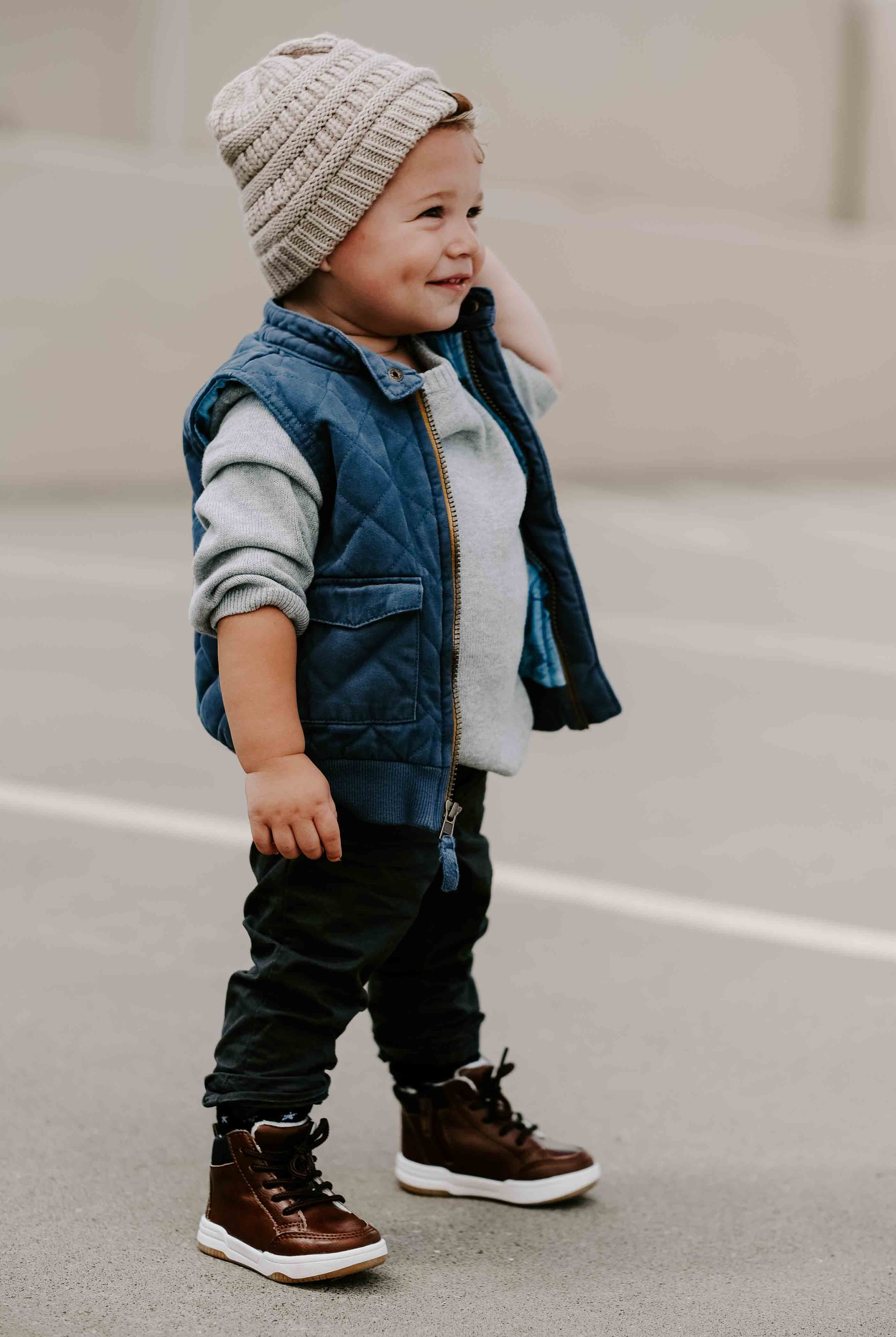 The Cutest Toddler Boy Capsule Wardrobe For Fall