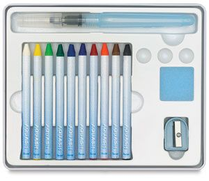 Pentel Aquash Watercolor Crayon Set Escrivaninha