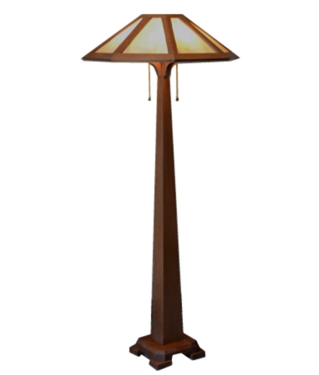 Mission Craftsman Floor Lamp Saugatuck Rustic Artistry Craftsman Table Lamps Rustic Floor Lamps Floor Lamp