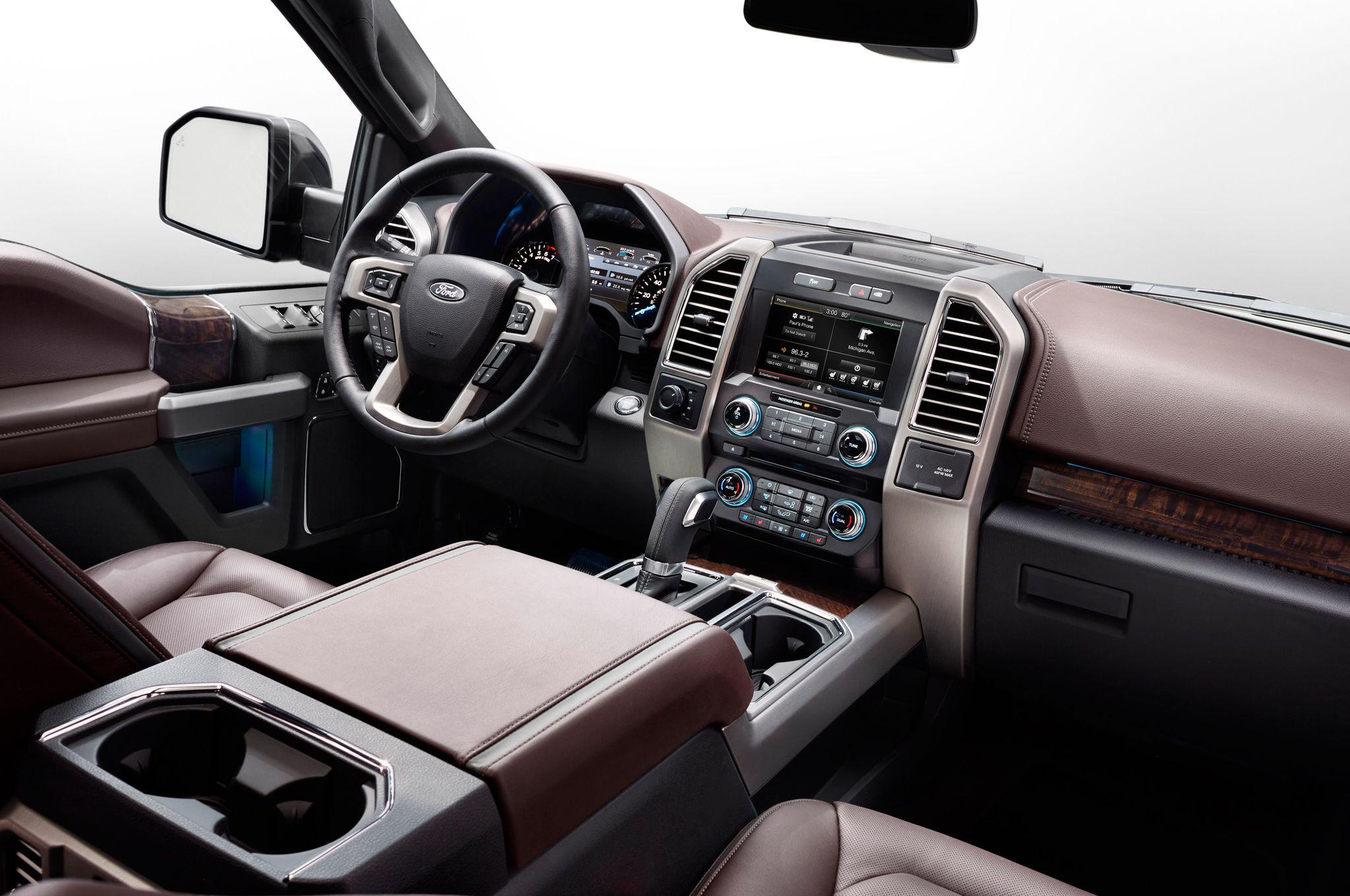 2015 ford f 150 interior