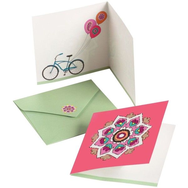 Vera Bradley Little Note Card ($1.99) ❤ liked on Polyvore featuring filler