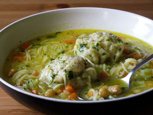maple•spice: Chickpea Noodle Soup with Herb Dumplings(Vegan) #chickpeanoodlesoup