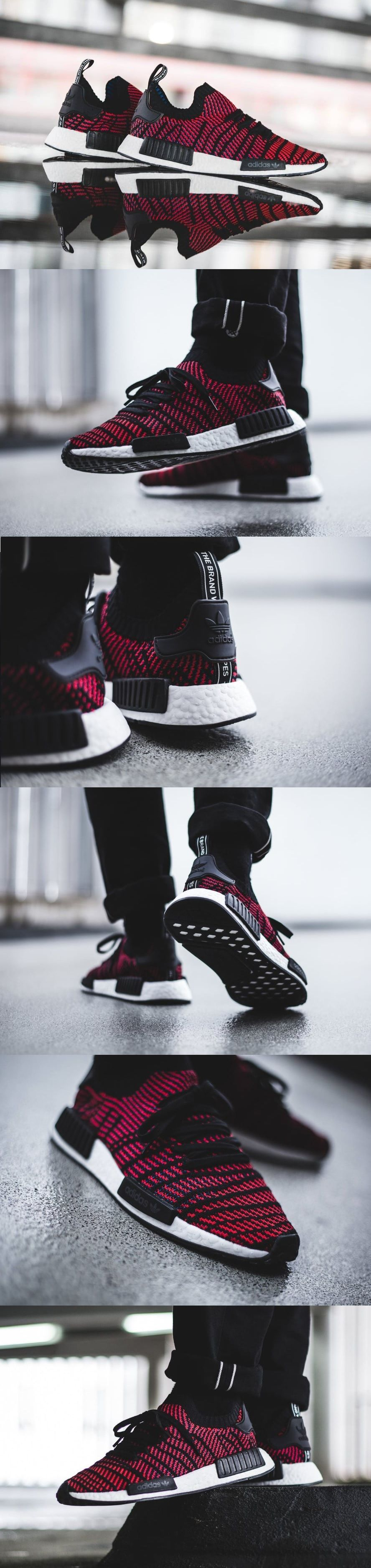 4ffd4f07d  Adidas  NMD R1 STLT PK  Core  Black  Red